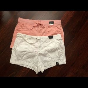 Beautiful Women Coral and White  A.n.a shorts